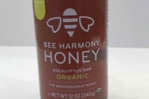 ORGANIC EUCALYPTUS RAW HONEY