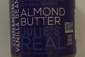 Cinnamon Vanilla Bean Almond Butter