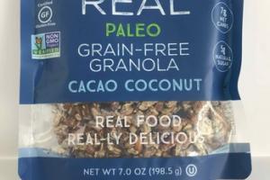 GRAIN-FREE CACAO COCONUT GRANOLA