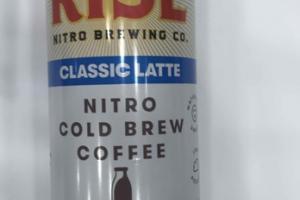 CLASSIC LATTE NITRO COLD BREW COFFEE