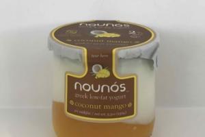 COCONUT MANGO GREEK LOW-FAT YOGURT