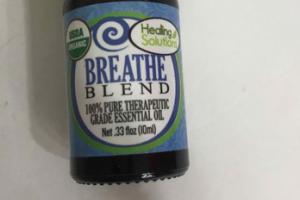 BREATHE BLEND 100% PURE THERAPEUTIC GRADE ESSENTIAL OIL
