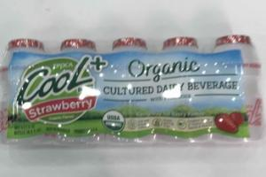 ORGANIC STRAWBERRY CULTURED DAILY BEVERAGE