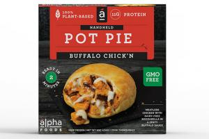 Pot Pie Buffalo Chick'n