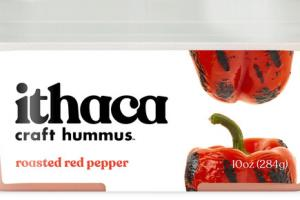 ROASTED RED PEPPER CRAFT HUMMUS