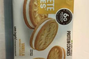VANILLA FLAVORED PLANT-BASED PROTEIN COOKIES