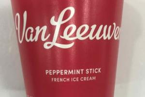 PEPPERMINT STICK FRENCH ICE CREAM