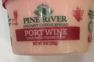 Port Wine Cold Pack Cheese Food