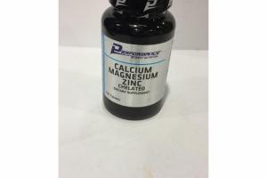 CALCIUM MAGNESIUM ZINC CHELATED DIETARY SUPPLEMENT TABLETS