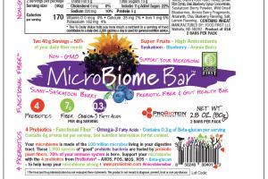 Prebiotic Fiber & Gut Health Bar