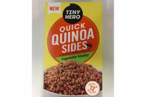 A MIGHTY WHOLE GRAIN VEGETABLE MEDLEY QUICK QUINOA SIDES