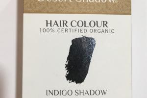 Organic Hair Colour, Indigo Shadow Blue Black