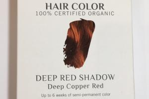 Hair Color, Deep Copper Red