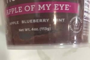 APPLE, BLUEBERRY, MINT FRUIT PUREE