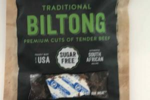 TRADITIONAL BILTONG PREMIUM CUTS OF TENDER BEEF