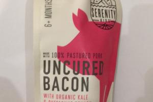 Uncured Bacon With Organic Kale & Butternut Squash