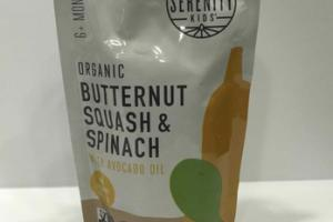 ORGANIC BUTTERNUT SQUASH & SPINACH WITH AVOCADO OIL