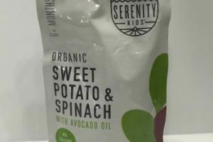 ORGANIC SWEET POTATO & SPINACH WITH AVOCADO OIL