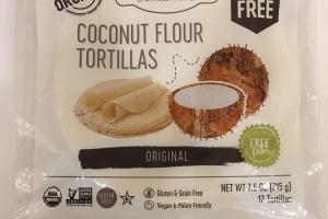 Organic Coconut Flour Tortillas