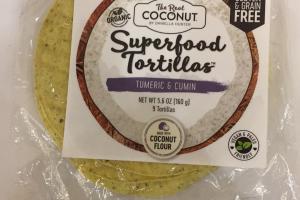 Superfood Tortillas
