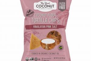 HIMALAYAN PINK SALT COCONUT FLOUR TORTILLA CHIPS