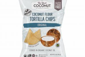 ORIGINAL COCONUT FLOUR TORTILLA CHIPS