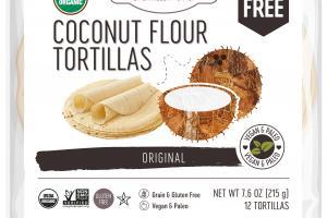 ORIGINAL COCONUT FLOUR TORTILLAS
