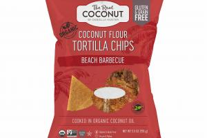 BEACH BARBECUE COCONUT FLOUR TORTILLA CHIPS