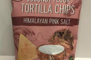 ORGANIC HIMALAYAN PINK SALT COCONUT FLOUR TORTILLA CHIPS