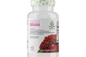 ENDO BRAIN SUPPORTS ENDOCANNABINOID HEALTH DIETARY SUPPLEMENT VEGAN SOFTGELS