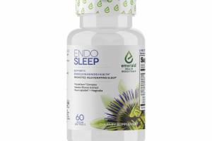 ENDO SLEEP 60 VEGAN SOFTGELS DIETARY SUPPLEMENT