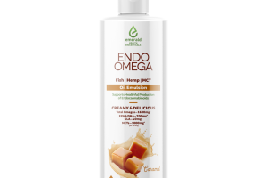 ENDO OMEGA SUPPORTS HEALTHFUL PRODUCTION OF ENDOCANNABINOIDS, CARAMEL