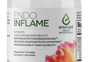 INFLAME SUPPORTS ENDOCANNABINOID HEALTH DIETARY SUPPLEMENT VEGAN SOFTGELS
