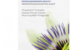 ENDO SLEEP PHYTOCANN COMPLEX, PASSION FLOWER EXTRACT, PHARMAGABA + MAGNOLIA SUPPORT ENDOCANNABINOID HEALTH DIETARY SUPPLEMENT VEGAN SOFTGELS