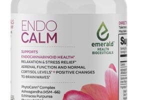ENDO CALM PHYTOCANN COMPLEX, ASHWAGANDHA (KSM-66), ECHINACEA ANGUSTIFOLIA, + PHARMAGABA SUPPORT ENDOCANNABINOID HEALTH DIETARY SUPPLEMENT VEGAN SOFTGELS