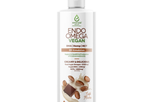 CREAMY & DELICIOUS CAFE MOCHA VEGAN ENDO OMEGA OIL EMULSION DIETARY SUPPLEMENT