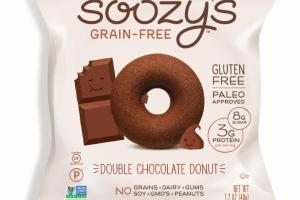 GRAIN-FREE DOUBLE CHOCOLATE DONUT