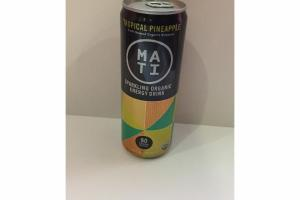 ORGANIC TROPICAL PINEAPPLE SPARKLING ENERGY DRINK
