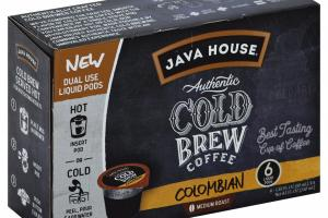 Medium Roast Colombian Authentic Cold Brew Coffee