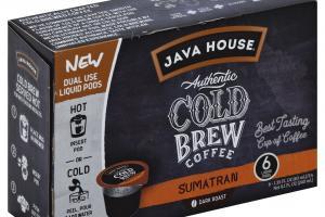 Dark Roast Authentic Cold Brew Coffee