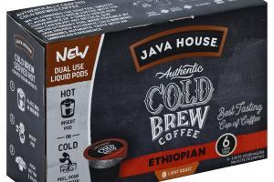 Light Roast Ethiopian Authentic Cold Brew Coffee