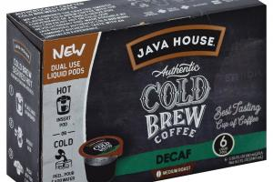 Medium Roast Decaf Authentic Cold Brew Coffee