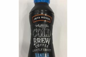 LIGHT SWEET VANILLA AUTHENTIC COLD BREW COFFEE