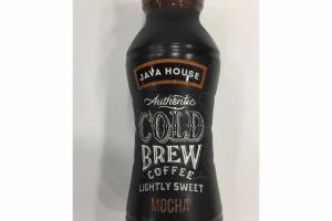MOCHA LIGHTLY SWEET AUTHENTIC COLD BREW COFFEE