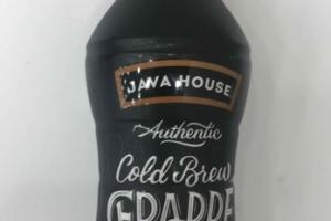 AUTHENTIC COLD BREW FRAPPE COFFEE WITH MILK + CANE SUGAR