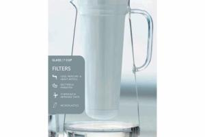 GLASS WATER FILTER PITCHER