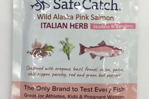Skinless & Boneless Wild Alaska Pink Salmon
