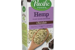 CHOCOLATE HEMP PLANT-BASED BEVERAGE