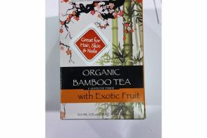 ORGANIC BAMBOO TEA WITH EXOTIC FRUIT