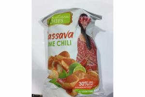 LIME CHILI CASSAVA POTATO CHIPS